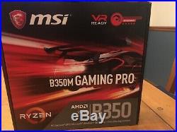MSI AMD Ryzen B350 TOMAHAWK ATX Gaming Motherboard