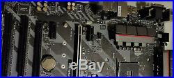 MSI AMD Ryzen B350 TOMAHAWK ATX Gaming Motherboard- DDR4 HDMI USB 3 CFX