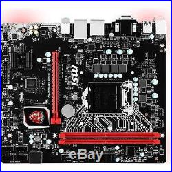 MSI B150M GAMING PRO LGA1151 Intel B150 DDR4 PCI-E Micro ATX Motherboard
