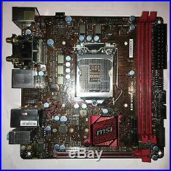MSI B250I Gaming Pro AC Mini ITX Motherboard B250 Chipset LGA 1151 Wireless AC