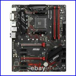 MSI B450 Gaming Plus Max Socket AM4 DDR4 PCI-E 3.0 ATX Motherboard