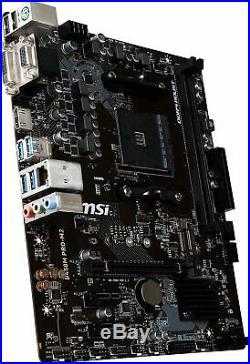 MSI B450M PRO-M2 Motherboard mATX, AM4, DDR4, LAN, USB 3.1 FAST & FREE DELIVERY