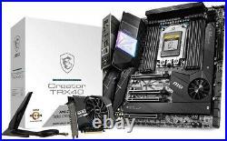 MSI Creator TRX40 Motherboard (AMD sTRX4, PCIe Gen4, M. 2, Wi-Fi 6, eATX)