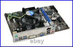 MSI H81M-P33 Micro ATX, Core i3-4160, 8GB DDR3 Motherboard Bundle