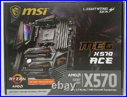 MSI MEG X570 ACE Motherboard (AMD AM4, DDR4, USB 3.2 Gen 2, AX Wi-Fi 6, ATX)