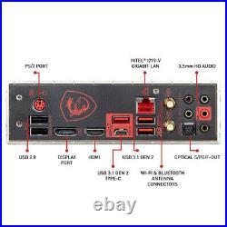 MSI MPG Z390 GAMING PRO CARBON Intel LGA1151 DDR4 Desktop Motherboard ATX HDMI
