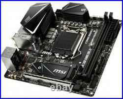 MSI MPG Z390I GAMING EDGE AC DDR4 LGA1151 Intel Z390 USB3.1 Mini-ITX Motherboard
