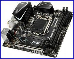 MSI MPG Z390I GAMING EDGE AC Mini-ITX Motherboard DDR4 LGA1151 Intel Z390 USB3.1