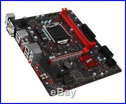 MSI Motherboard B250M GAMING PRO Core i3/i5/i7 B250 S1151 DDR4 SATA PCI Express