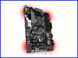 MSI Motherboard B350 TOMAHAWK AMD AM4 B350 DDR4 PCI Express ATX Refurbished