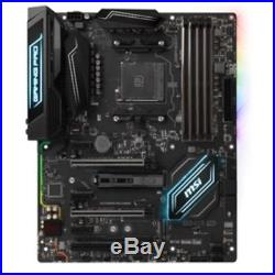 MSI Motherboard X370 GAMING PRO CARBON AMD X370 AM4 DDR4 PCI Express ATX Ratail