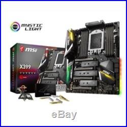 MSI Motherboard X399 GAMING PRO CARBON AC AMD X399 128GB DDR4 PCI Express EATX R