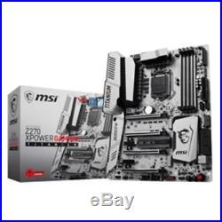 MSI Motherboard Z270 XPOWER GAMING TI Core i3/i5/i7 Z270 S1151 DDR4 SATA PCI Exp