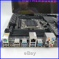 MSI X299 RAIDER ATX Intel DDR4 ATX LGA2066 Desktop Motherboard