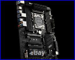 MSI X299 RAIDER Intel LGA X299 2066 ATX Desktop Motherboard A
