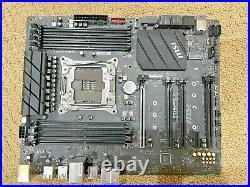 MSI X299 RAIDER Intel LGA X299 2066 ATX Desktop Motherboard + TPM 2.0 Module