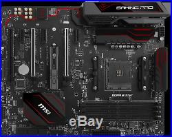 MSI X370 GAMING PRO AMD Ryzen Socket AM4 ATX Motherboard DDR4 Ryzen 3 5 7 CPU