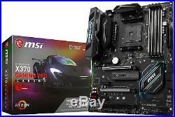 MSI X370 GAMING PRO CARBON Amd Ryzen X370 Ddr4 Vr Ready Hdmi Usb 3 Atx Gaming Mo