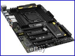 MSI X99A MPOWER LGA 2011-V3 Motherboard Intel X99 DDR4 ATX USB3.1 SATA3.0