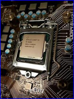 MSI Z170-A PRO Motherboard + Intel Core i5-6600K CPU + Cooler Master Hyper 212 E