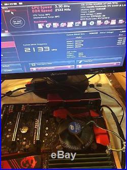 Msi Z170a-gaming M7 Motherboard, 1151, 4 Dr4, 4 Pci-e, M. 2, 6 Sata3 Usb3.1 Atx
