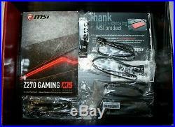 MSI Z270 GAMING M5 ATX Motherboard Intel LGA 1151 Socket (Great Condition)
