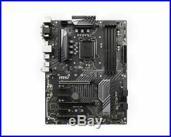 MSI Z370 PC PRO LGA 1151 (300 Series) Intel Z370 SATA 6Gb/s Intel Motherboard