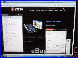 MSI Z87-G43, LGA 1150, 2x PCI-e, PCI, SATA III, USB 3.0, HDMI, DVI, GAMING Motherboard