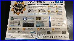 MSI Z87-G43 LGA 1150 2x PCI-e, SATA III, USB 3.0, HDMI Intel-CPU Motherboard