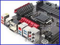 MSI Z97 ATX Motherboard Z97-G45 GAMING, LGA 1150 DDR3 ATX DVI SATA3 USB3.0 4K