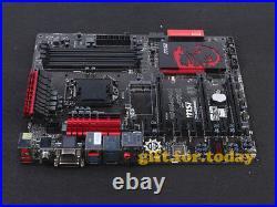MSI Z97-G45 GAMING LGA 1150 Intel Z97 DVI SATA3 USB3.0 4K DDR3 ATX Motherboard
