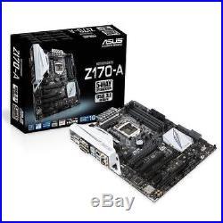 Mainboard ASUS Z170-A LGA1151 ATX 3xPCIEx16 SLI CROSSFIRE 2xOCIEx1 PCI 4xDDR4