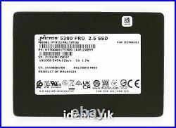 Micron 5300 PRO 1.92TB SSD 2.5 SATA (MTFDDAK1T9TDS) Enterprise Drive