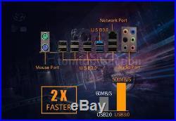 Motherboard ATX LGA2011/I7 Support 8 DIMM DDR3 Desktop SATA III 6Gbps PCI-E D2F9