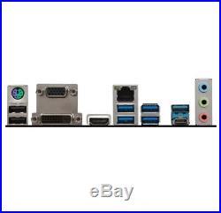 Motherboard MSI B250 PC MATE LGA 1151 ATX Intel Pro DDR4 video audio chipset PCI