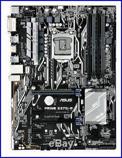 NEW ASUS PRIME Z270-P LGA1151 DDR4 HDMI DVI M. 2 USB 3.0 Z270 ATX Motherboard