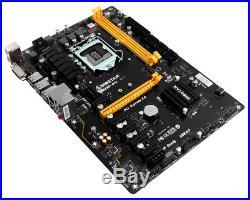 NEW! Biostar TB250-BTC Motherboard DDR4 1151 Express ATX 6 PCI-E Slots