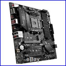 NEW! MSI B450M MORTAR MAX Socket AM4 AMD B450 Motherboard Micro ATX DDR4 USB3.0