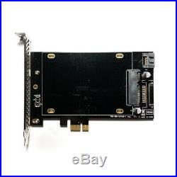 NEW PCIe Single Slot SSD Adapter 550MB/s 2.5 SATA III PCI Karte Apple Mac Pro