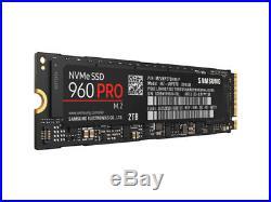NEW Samsung 960 PRO NVMe M. 2 2TB 2000GB M. 2 PCI Express