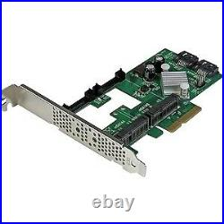 NEW! Startech 2 Port Pci Express 2.0 Sata Iii 6Gbps Raid Controller Card With 2 Ms