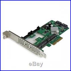 NEW! Startech. Com 2-Port Pci Express 2.0 Sata Iii 6Gbps Raid Controller Card Wit