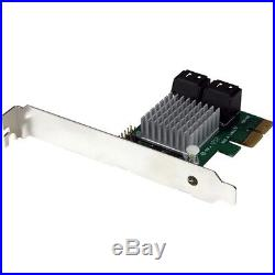 NEW Startech PEXSAT34RH 4 Port PCI Express SATA III 6Gbps RAID Controller Card