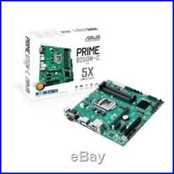 New ASUS Motherboard PRIME B250M-C/CSM S1151 DDR4 B250 SATA PCI Express HDMI/DVI