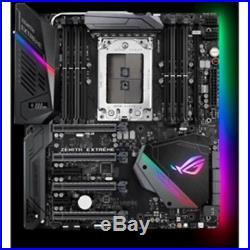 New Asus Motherboard ROG CROSSHAIR VI EXTREME AMD AM4 Ryzen X370 DDR4 SATA PCI E