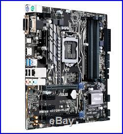 New Asus Prime Intel H270m Plus Atx Motherboard Socket 1151 Pci-e 3.0 Multi Gpu