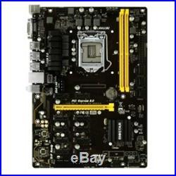 New Biostar Motherboard TB250-BTC PRO Core i7/i5/i3 LGA1151 B250 DDR4 SATA PCI E