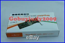 New LSI MegaRAID 9260-8i SAS RAID with IBBU07 iBBUO7 PCI-Express RAID Controller