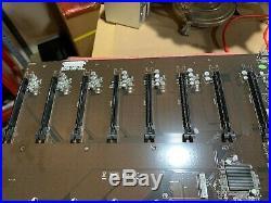 New Onda B250 D8P-D4 Ver 1.00 Motherboard 12 PCI-E DDR3 1151 GPU Miner