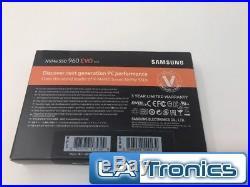 New Samsung 250GB M. 2 PCIe PCI-Express NVMe 960 EVO Series SSD Drive MZ-V6E250BW